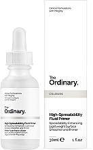 Voňavky, Parfémy, kozmetika Primer na tvár - The Ordinary High-Spreadability Fluid Primer