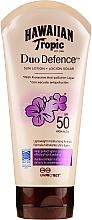 Voňavky, Parfémy, kozmetika Opaľovací lotion na telo - Hawaiian Tropic Duo Defence Sun Lotion SPF50