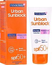 Voňavky, Parfémy, kozmetika Krém pre citlivú pokožku tváre s ochranou proti slnku - Novaclear Urban Sunblock Protective Cream Sensitive Skin SPF50