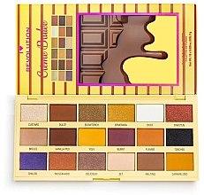Voňavky, Parfémy, kozmetika Paleta očných tieňov - I Heart Revolution Eyeshadow Chocolate Palette Creme Brulee