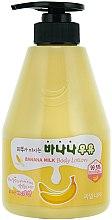 Voňavky, Parfémy, kozmetika Bananový lotion na telo - Welcos Banana Milk Skin drinks Body Lotion