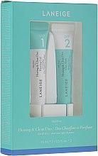 Voňavky, Parfémy, kozmetika Sada na intenzívne čistenie pórov - Laneige Mini Pore Heating & Clean Duo (f/mask/15ml + f/gel/15ml)