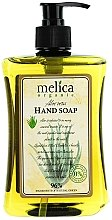 Voňavky, Parfémy, kozmetika Tekuté mydlo s extraktom z aloe - Melica Organic Aloe Vera Liquid Soap