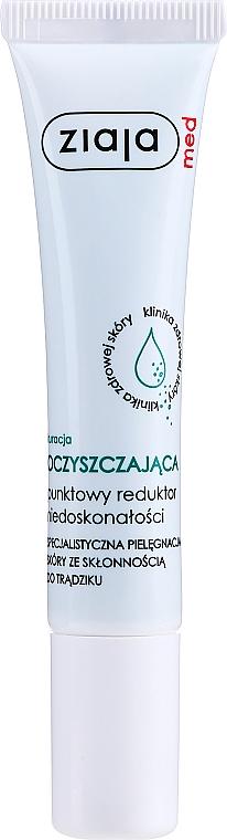 Prostriedok na odstránenie akne - Ziaja Med Spot Acne Reducing Treatment Antibacterial
