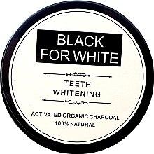 Voňavky, Parfémy, kozmetika Prášok na bielenie zubov s aktívnym uhlím - Biomika Black For White Teeth Whitening