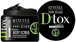Voňavky, Parfémy, kozmetika Scrub na telo - Revuele Pure Black Detox Volcanic Body Scrub