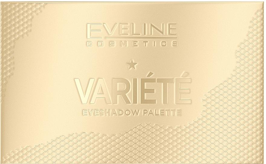 Paleta očných tieňov - Eveline Cosmetics Variete Eyeshadow Palette — Obrázky N1