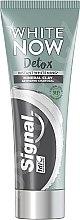 Voňavky, Parfémy, kozmetika Bieliaca zubná pasta s uhlím - Signal White Now Detox Toothpaste