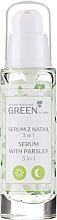 Voňavky, Parfémy, kozmetika Sérum-gél s petržlenom 3 v 1 na tvár, krk a dekolt - Floslek Green For Skin Serum