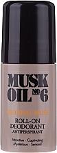 Voňavky, Parfémy, kozmetika Guľôčkový deodorant - Gosh Musk Oil No.6 Roll-On Deodorant