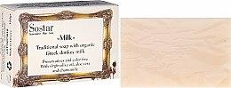 Voňavky, Parfémy, kozmetika Mydlo - Sostar Traditional Soap with Organic Greek Donkey Milk