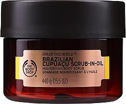 Voňavky, Parfémy, kozmetika Olejový scrub - The Body Shop Brazilian Cupuacu Scrub-in-oil