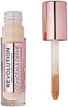 Voňavky, Parfémy, kozmetika Korektor pre tvár - Makeup Revolution Conceal and Define Concealer