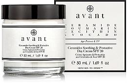 Voňavky, Parfémy, kozmetika Upokojujúci a ochranný denný krém - Avant Skincare Ceramides SPF20 Soothing and Protective Day Cream