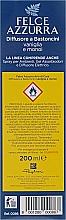 Osviežovač vzduchu, difúzor - Felce Azzurra Vanilla — Obrázky N3