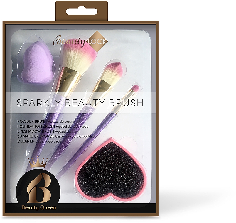 Sada na make-up - Beauty Look Sparkly Beauty Brush