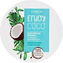 Voňavky, Parfémy, kozmetika Maska na vlasy s kokosovým olejom - Marion Enjoy Coco Nourishing Hair Mask