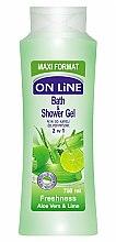 Voňavky, Parfémy, kozmetika Sprchová gélová pena - On Line Freshness Bath & Shower Gel