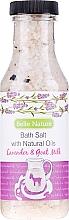 """Kúpeľová soľ """"Levanduľa a kozie mlieko"""" - Belle Nature Bath Salt — Obrázky N1"""