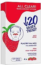 Voňavky, Parfémy, kozmetika Čistiace pásky na nos - Under Twenty Anti! Acne All Clear! Nose Strip