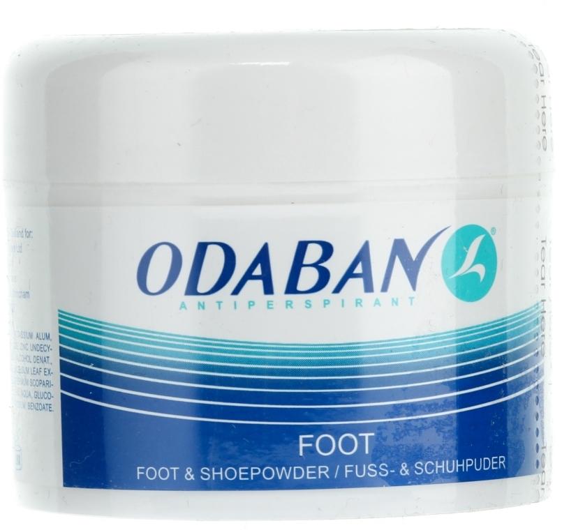 Prášok na nohy a topánky - Odaban Foot and Shoe Powder