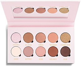 Voňavky, Parfémy, kozmetika Paleta tieňov na viečka - Makeup Obsession Be In Love With Eyeshadow Palette