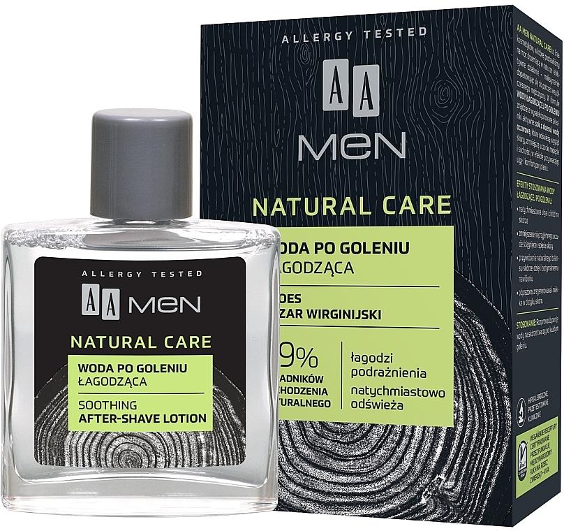 Pleťová voda po holení - AA Men Natural Care Sooting After-Shave Lotion