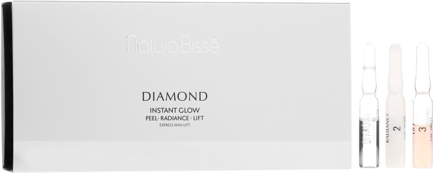 Flash ampulky pre žiarivosť pokožky - Natura Bisse Diamond Instant Glow Express Mini-Lift — Obrázky N1
