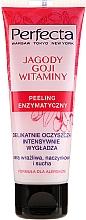"""Voňavky, Parfémy, kozmetika Enzýmový peeling tváre """"Goji bobule a vitamíny"""" - Perfecta"""