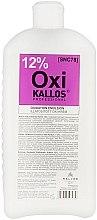 Voňavky, Parfémy, kozmetika Oxidant pre vlasy 12% - Kallos Cosmetics OXI Oxidation Emulsion With Parfum