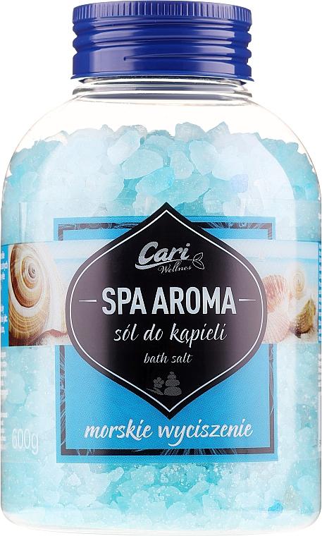 Soľ do kupeľa, azurová - Cari Spa Aroma Salt For Bath