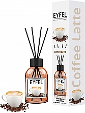 """Voňavky, Parfémy, kozmetika Aromatický difúzor """"Káva"""" - Eyfel Perfume Reed Diffuser Coffee"""