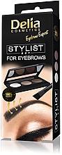 Voňavky, Parfémy, kozmetika Sada pre styling obočia - Delia Cosmetics Eyebrow Expert Stylist Set