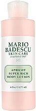 Voňavky, Parfémy, kozmetika Lotion na telo - Mario Badescu Apricot Super Rich Body Lotion