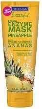 """Voňavky, Parfémy, kozmetika Maska na tvár enzýmová """"Ananas"""" - Freeman Feeling Beautiful Pineapple Enzyme Mask"""