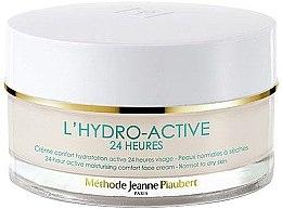 Voňavky, Parfémy, kozmetika Hydratačný krém - Methode Jeanne Piaubert L'Hydro-Active 24H 24-hour Active Moisturising Comfort Face Cream Normal to Dry Skin