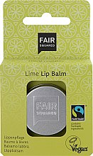 """Voňavky, Parfémy, kozmetika Balzam na pery """"Limetka"""" - Fair Squared Lip Balm Lime"""