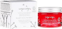 Voňavky, Parfémy, kozmetika Nočný krém s brusnicovým extraktom a kyselinou hyalurónovou - Uoga Uoga Hyaluronic Acid Night Cream
