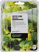 """Voňavky, Parfémy, kozmetika Textilná maska na tvár """"Brokolica"""" - Superfood For Skin Refreshing Sheet Mask"""