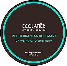 """Voňavky, Parfémy, kozmetika Olejový scrub na telo """"Korekcia postavy"""" - Ecolatier Mediterranean Rosemary Body Scrub-Oil"""