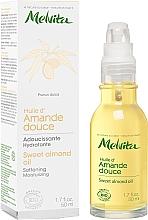 Voňavky, Parfémy, kozmetika Sladký mandľový olej na tvár - Melvita Huiles De Beaute Sweet Almond Oil
