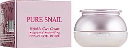 Voňavky, Parfémy, kozmetika Obnovujúci anti-aging krém na tvár - Bergamo Pure Snail Wrinkle Care Cream