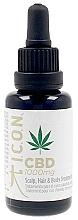 Voňavky, Parfémy, kozmetika Olej na vlasy, telo a pokožku hlavy - I.C.O.N. Organic CBD Oil 1000 mg Scalp Hair & Body Treatment