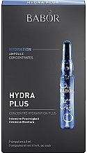 Voňavky, Parfémy, kozmetika Hydratačné ampulky na tvár - Babor Ampoule Concentrates Hydra Plus