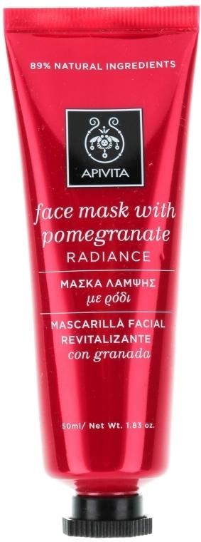 Maska na hojenie a žiarivosť pokožky s granátovým jablkom - Apivita Revitalizing and Radiance Mask