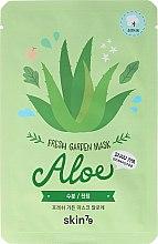 Voňavky, Parfémy, kozmetika Látková maska na tvár - Skin79 Fresh Garden Mask Aloe