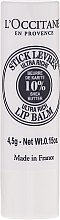 Ultra výživný balzam na pery - L'occitane Ultra Rich Stick Lip Balm — Obrázky N1
