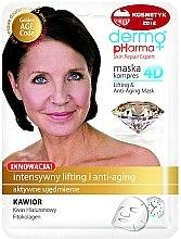 Voňavky, Parfémy, kozmetika Maska na tvár - Dermo Pharma Skin Repair Expert Lifting Anti Aging Mask 4D