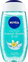 Voňavky, Parfémy, kozmetika Sprchový gél-starostlivosť - Nivea Hawaii Flower & Oil Shower Gel
