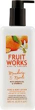 "Voňavky, Parfémy, kozmetika Lotion na ruky a telo ""Mandarínka a neroli"" - Grace Cole Fruit Works Hand & Body Lotion Mandarin & Neroli"